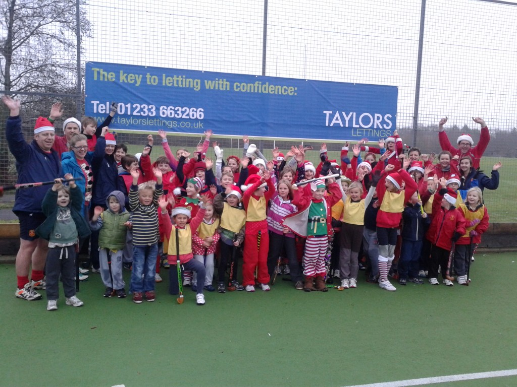 Taylors Lettings sponsor Ashford Hockey Club